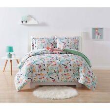 Laura Hart Kids F/ Q Animals 9 piece Comforter Set with sheet set & 2 pillows
