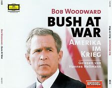 BOB WOODWARD : BUSH AT WAR / 3 CD-SET (HÖRBUCH)