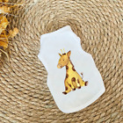 Dog Clothes for Small Dogs Cute Printed summer Pets t shirt Puppy Dog Clothes