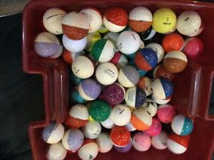 75 ping golf balls many colors