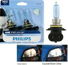 Philips CrystalVision Ultra 9012 HIR2 55W Two Bulbs Head Light Dual Beam Replace