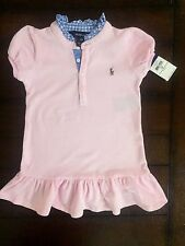 Ralph Lauren Girls' check Cotton Clothing (0-24 Months)
