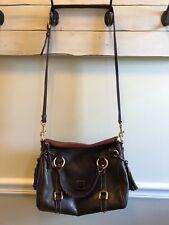 Dooney & Bourke Brown Leather Florentine Small Satchel (MSRP $368)