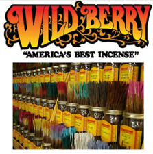 """Wildberry Incense 11"""" Stick  60+ Flavors 20/40/ 60/100 (BUY 1 GET 1 25% OFF)"""