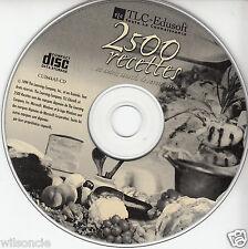 2500 Recettes et autres conseils de savoir-vivre (CD-ROM, TLC Edusoft 1999)