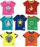 Nickelodeon Paw Patrol T-Shirt Chase,Marshal,Rocky,Rubble,Zuma,Sky,Everest