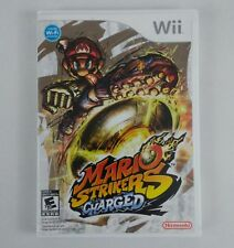 Mario Strikers Charged - Nintendo  Wii Game Disk with Case and Booklet