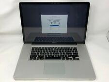 MacBook Pro 17 Early 2011 MC725LL/A 2.2GHz i7 8GB 480GB SSD - Fair Condition