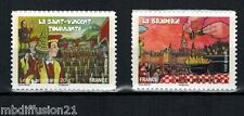 2011 - LOT TIMBRES AUTOADHESIF - FRANCE NEUF**FETES & TRADITIONS -Yt.568a/583a