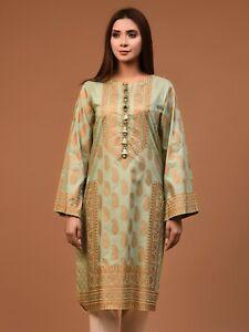 Limelight Embroidered shirt / Kurta Like Khaadi Sapphire Sana Safinaz  DESIGNIER