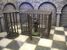 Ziterdes 25mm Terrain Unpainted Torture Cage Round & Square Dwarven Forge