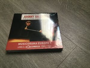 Johnny Hallyday CD Collection Officielle Les Deux Lives Rare Neuf