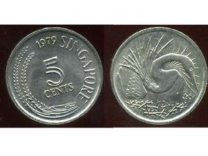 SINGAPOURE 5 cents 1979  ANM  ( bis )