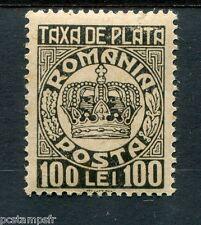 ROUMANIE - ROMANIA, 1947, timbre TAXE 101, COURONNE, neuf**