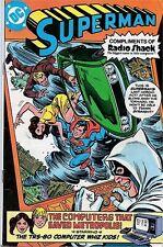 SUPERMAN RADIO SHACK 1 GIVEAWAY PROMO COMPUTERS THAT SAVED METROPOLIS VF RARE