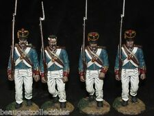 CONTE Alamo Crockett MEXICAN ARMY MARCHING 4 FIGS ALA2 Rare Boxed Sold Out Set