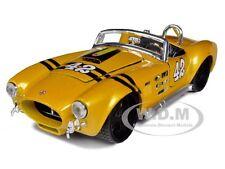 1965 SHELBY COBRA 427 YELLOW CUSTOM #42 1/24 DIECAST CAR MODEL BY MAISTO 31325