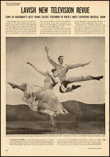 1951 vintage magazine photo, dancers Marge and Gower Champion -071512