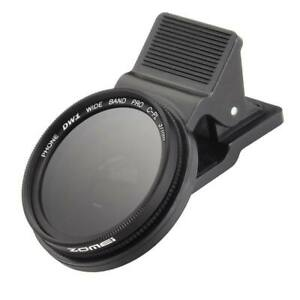 New 37mm Cell Phone Camera CPL Filter Circular Polarizer Lens For iPhone Android