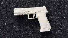 Replica Full Size 9mm Handgun / Pistol in Off White - Craft