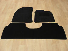 "Toyota Avensis (2011-on) Fully Tailored Car Mats in Black. ""Face Lift Model"""