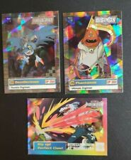 UPPER DECK ANIMATED SERIES 2 DIGIMON HOLO FOIL   3 CARD LOT