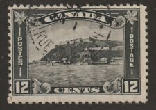 "CANADA 1930 #174 King George V ""Arch / Leaf"" Issue (Quebec Citadel) - F Used"