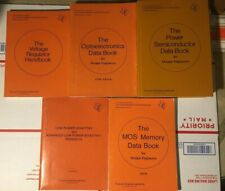 Lot of 5 Ti Semiconductor Group Data Books for Design Engineers Power, Mos, Volt