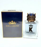K by Dolce & Gabbana Eau De Toilette for men 50 ml /1.7 oz New in Box Sealed