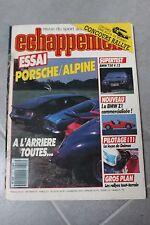 ECHAPPEMENT N°227 (sept 1987) Essai : Porsche/Alpine - BMW 750 V 12- Lancia Beta