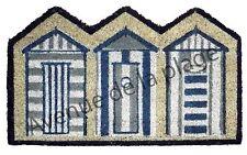 Paillasson tapis d'entrée Cabines de plage décoration marine bord de mer neuf