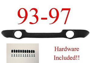 93 97 Ranger Valance W/ Fog Light Holes, W/ Hardware, Ford Truck, FO1095150