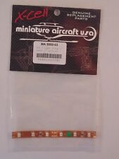 MINIATURE AIRCRAFT LED 3 Light Strip Green MA5000-03