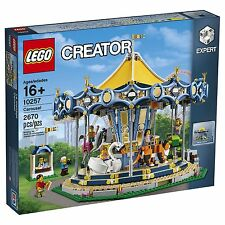 LEGO CREATOR CAROUSEL 10257 THEME PARK 10261 10247 10244 10196 NEW SEALED 5% OFF