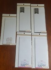 Recollections Creative Year Note Pad 20 pc (lot of 5) NIB