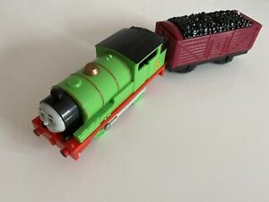 Tomy Trackmaster Talking Percy Battery Operated Thomas and Friends Train