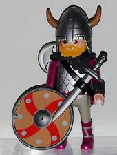 JX1973 PLAYMOBIL VIKINGO  soldado caballero   medieval