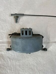 Willys Jeep Windshield Wiper Vacuum Pump And Control Cable
