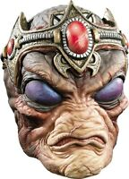 HALLOWEEN ADULT ALIEN ROSWELL COMMANDER MASK PROP