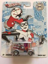 Hot Wheels Real Riders Harley Quinn Bread Box Silver Diecast DC Comics Originals