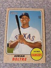 L#575 2017 Topps Heritage #287 Adrian Beltre, Texas Rangers, NR-MT condition