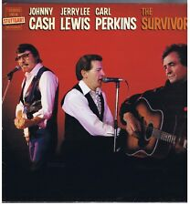 LP JOHNNY CASH J.L.LEWIS CARL PERKINS THE SURVIVORS