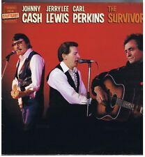 LP JOHNNY CASH J.L.LEWIS CARL PERKINS THE SURVIVORS