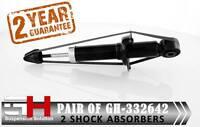 2 NEW REAR SHOCK ABSORBERS For HONDA CR-V II (RD2) 2002-2006/GH-332642K