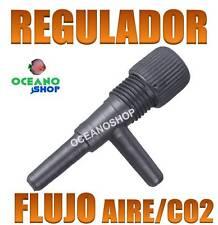 LLAVE REGULACION TUBO MANGUERA 4/6MM CONTROL FLUJO AIRE y CO2 ACUARIO AIREADOR