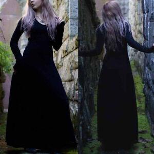Medieval Victorian Gothic Women's Long Dress Halloween Vampire Cosplay Costume