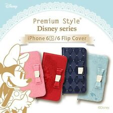NEW Disny Princess iPhone 6/6s Flip Cover Case Minnie Alice Ariel Snow White F/S