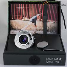 Lomography LOMO LC-A Minitar-1 Art Lens 32mm f/2.8 Leica M mounted Silver