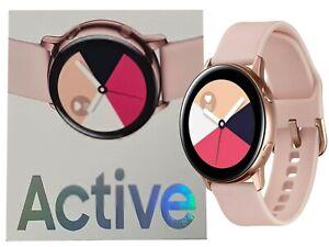 "New 1.1"" Samsung Galaxy Watch Active Rose Gold SM-R500 4GB Bluetooth Smartwatch"