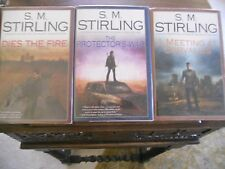 THE CHANGE: Vols. #1-3 Dies the Fire, S. M. Stirling, all SIGNED 1st prints HCDJ